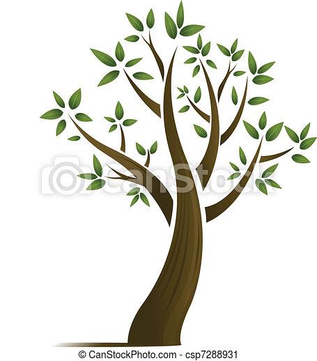 Abstract tree design - csp7288931
