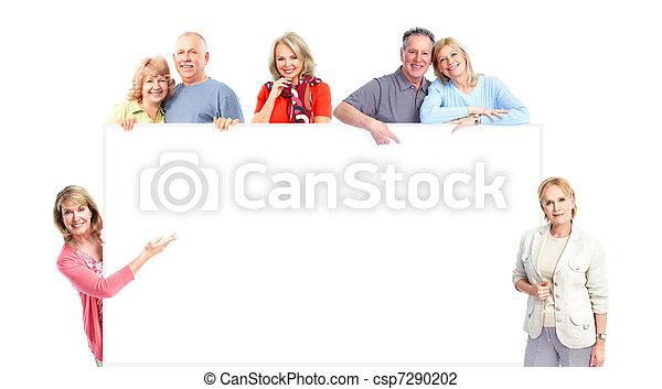 Elderly people. - csp7290202