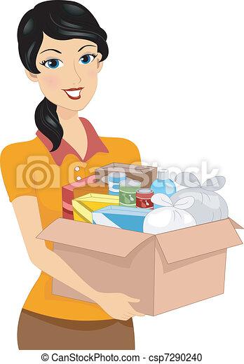 Donation Box - csp7290240