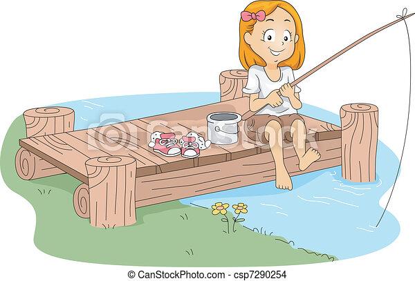 Camp Fishing - csp7290254