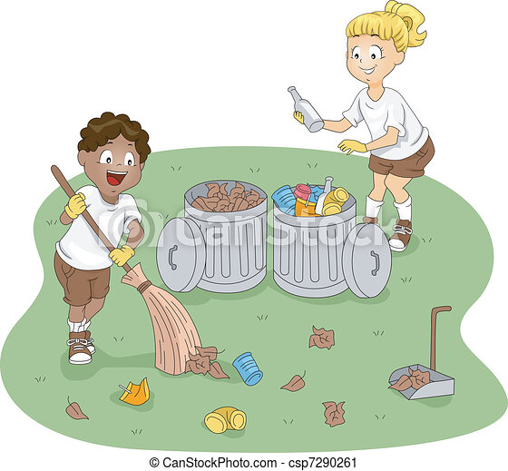 Camp Cleaning - csp7290261