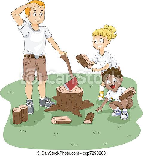 Firewood - csp7290268