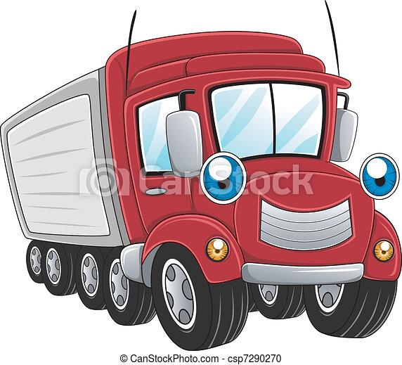 Trailer Truck - csp7290270