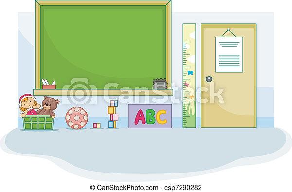 Preschool Classroom - csp7290282