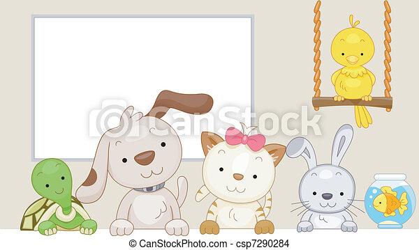 Pets - csp7290284