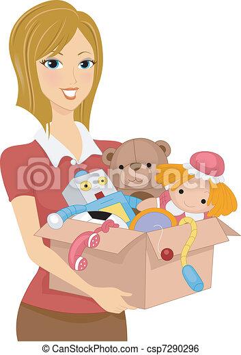 Box of Toys - csp7290296