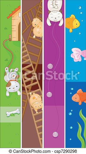 Pet Banner - csp7290298