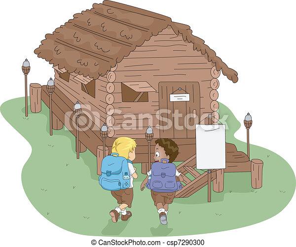 Camp Cabin - csp7290300