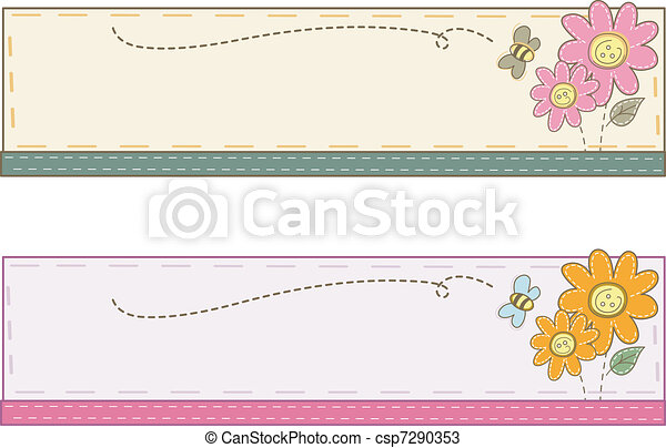 Crafts Web Banner - csp7290353