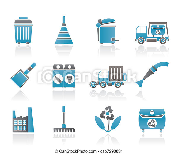 Cleaning Industry and environment  - csp7290831