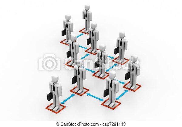 Business organisation concept - csp7291113
