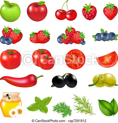 Fruits And Vegetables - csp7291812