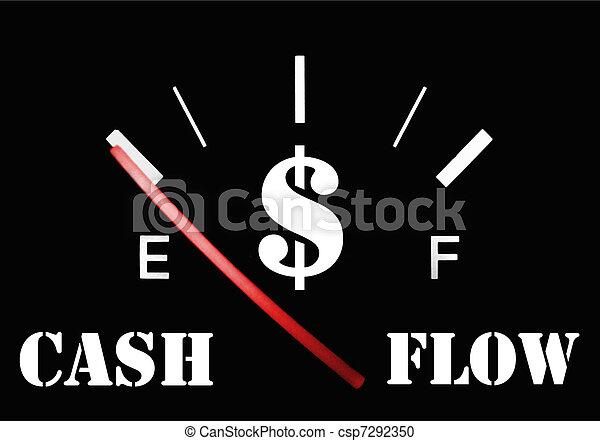 cash flow empty - csp7292350