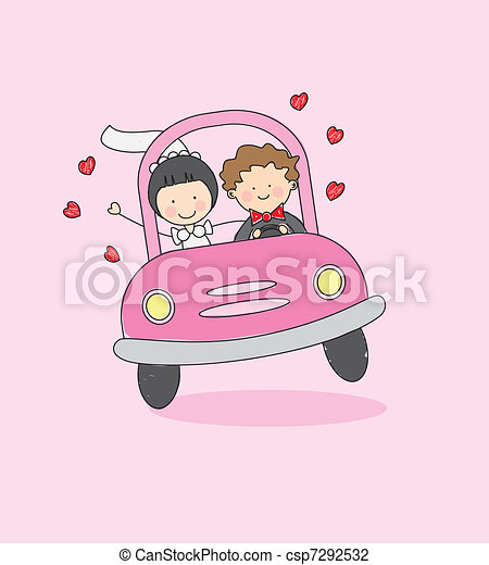 just married - csp7292532