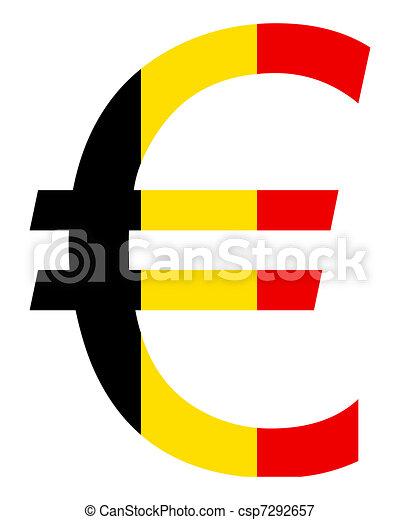 Belgian Euro - csp7292657