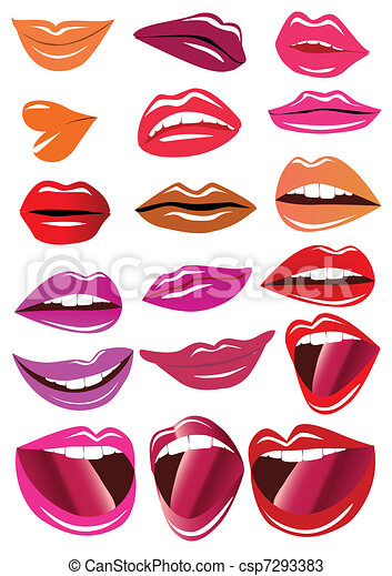 kit brilliant lips - csp7293383