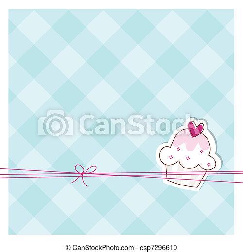 Baby shower invitation  - csp7296610