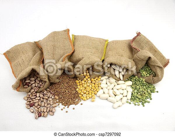 legumbres,  varius - csp7297092