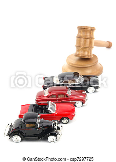 Gavel auction and cars  - csp7297725