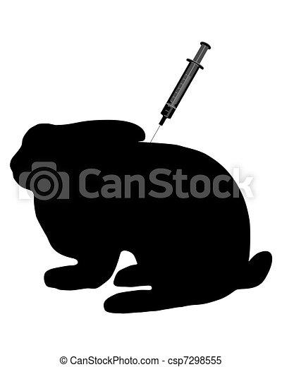 Immunization for bunnies - csp7298555
