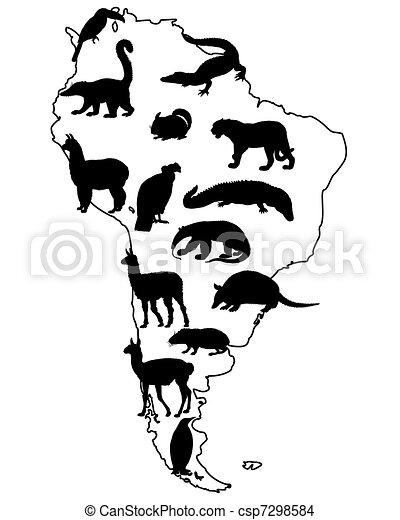 Animals South America - csp7298584
