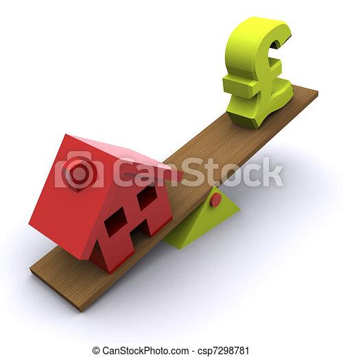 Housing Market Crunch - csp7298781