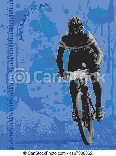 Mountain biker - csp7300062