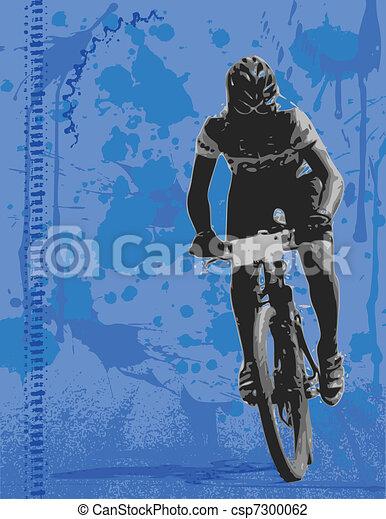 Mountain biker - csp7300062