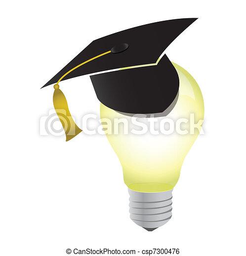 Idea-3D concept with light bulb - csp7300476