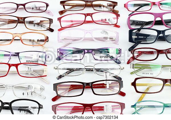 médico, óculos - csp7302134