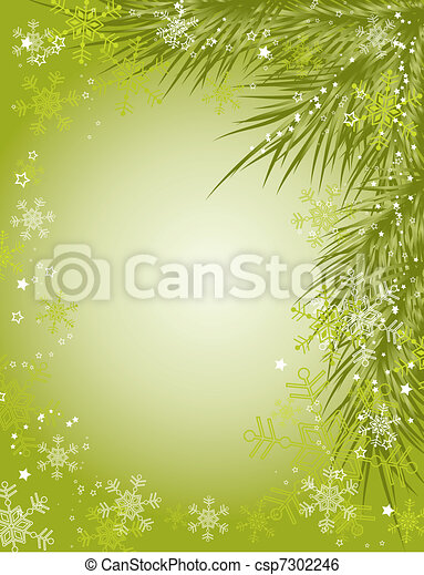 Christmas background, vector - csp7302246