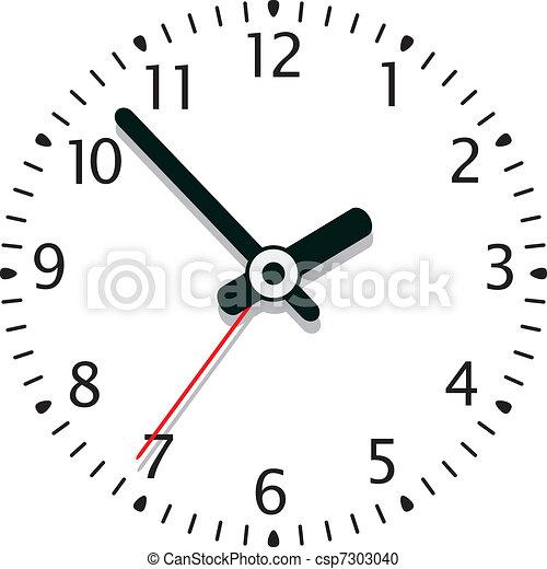 clock - csp7303040