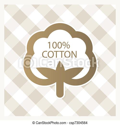 Cotton label - csp7304564