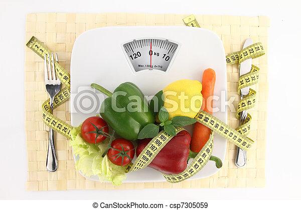 Diet concept - csp7305059