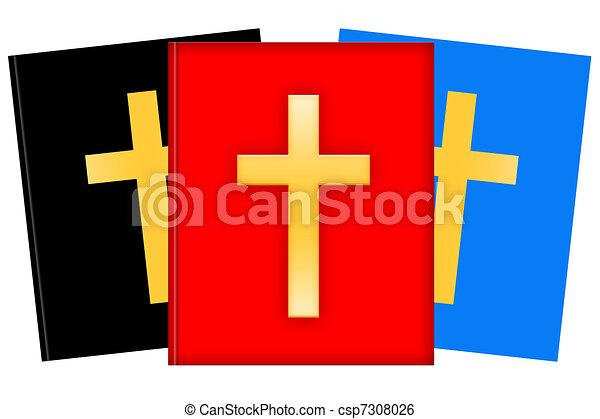 Christian literature - csp7308026