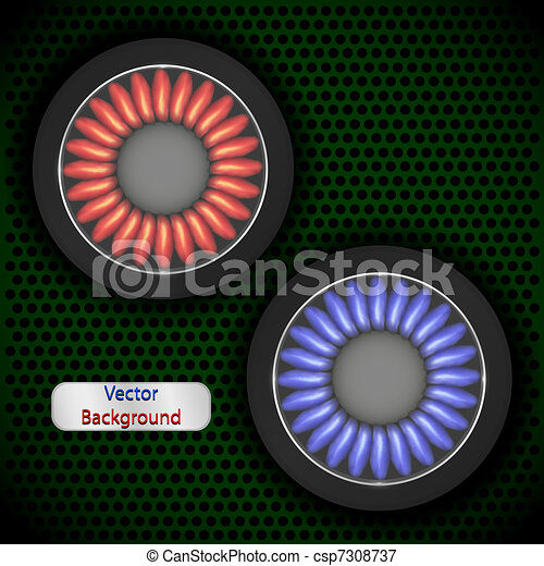 Gas background for your design. Vec - csp7308737