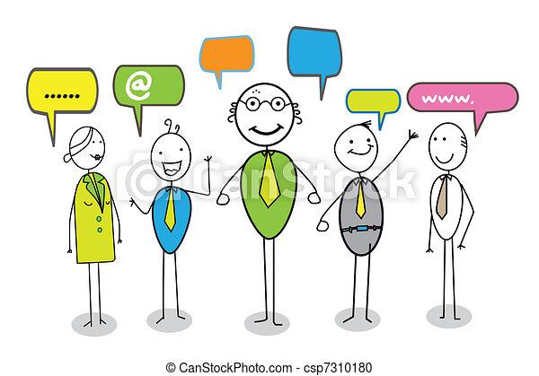 online community  - csp7310180