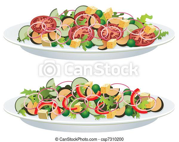 vegetable salads - csp7310200