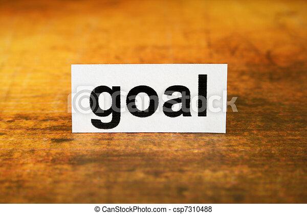 Goal  - csp7310488