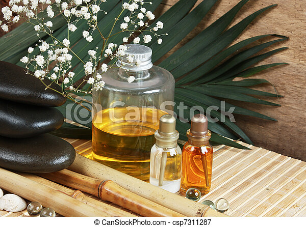 Spa still life  - csp7311287