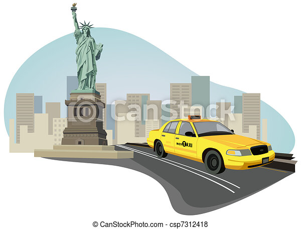 New York City Taxi - csp7312418
