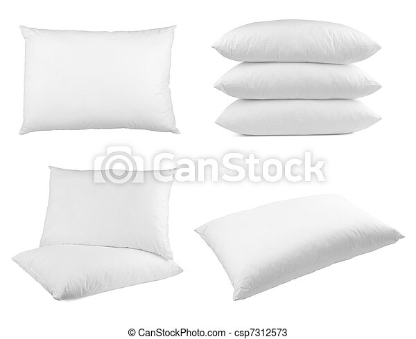 pillow bedding bed sleeping - csp7312573