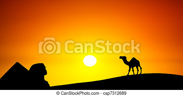 Postcard from Egypt - csp7312689