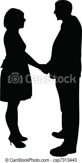Bridal Couple - csp7313443