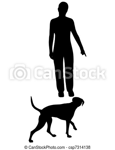 Dog Training (Obedience): Command: Come! - csp7314138