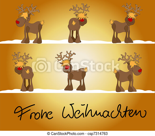 drawings of xmas card frohe weihnachten csp7314763. Black Bedroom Furniture Sets. Home Design Ideas
