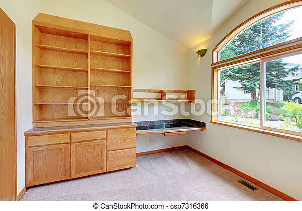 Photo tude ou biblioth que salle nouveau - Construire une bibliotheque ...