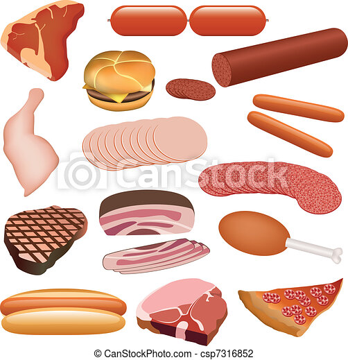meat set - csp7316852