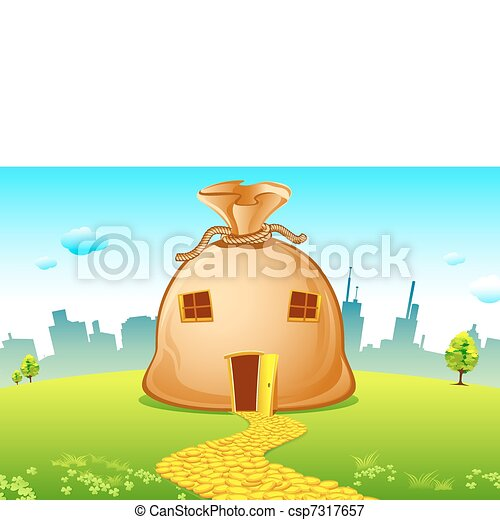 Costly House - csp7317657