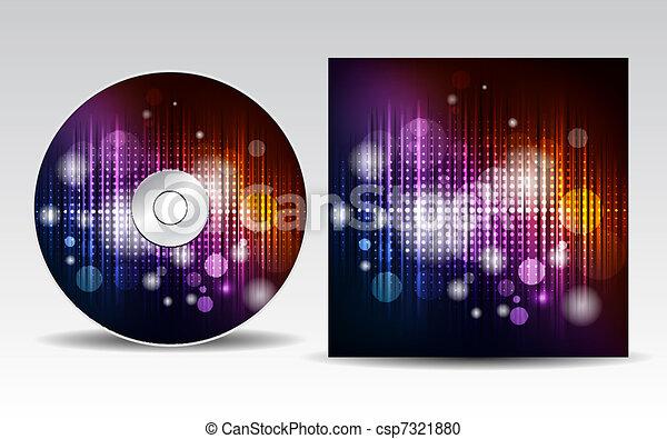 CD cover design - csp7321880